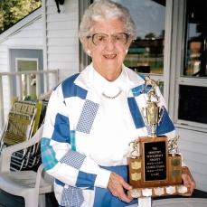Sept 11, 2000 - Paris Tournament. Dorothy Tewksbury (Deceased Jan 19th, 2001)